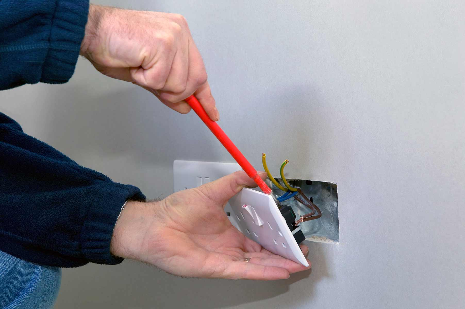 Our electricians can install plug sockets for domestic and commercial proeprties in Camden Town and the local area.